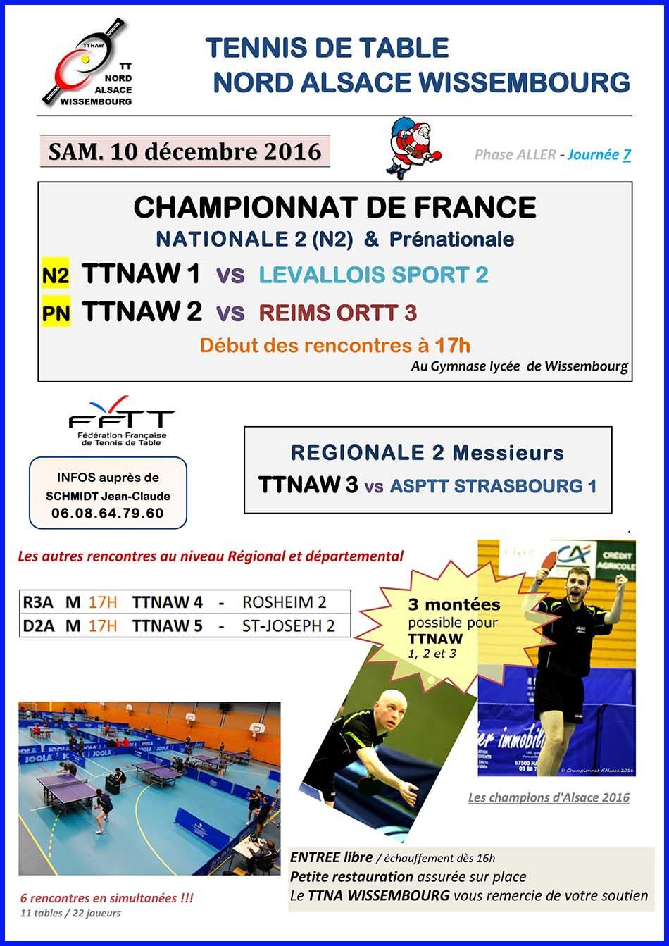 Tennis de Table NORD ALSACE